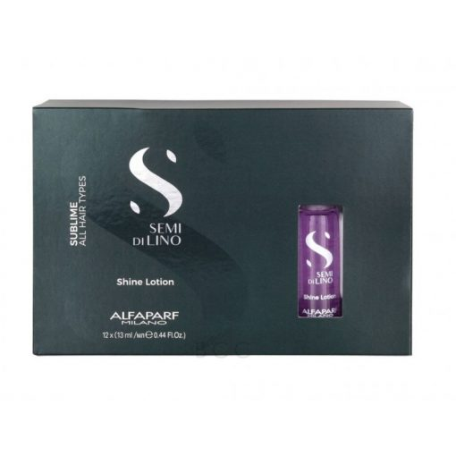 Alfaparf Semi di Lino Shine Lotion ampulla 12x13 ml