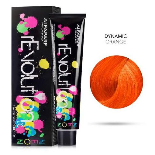 Alfaparf Revolution hajszínező Dynamic Orange 90 ml