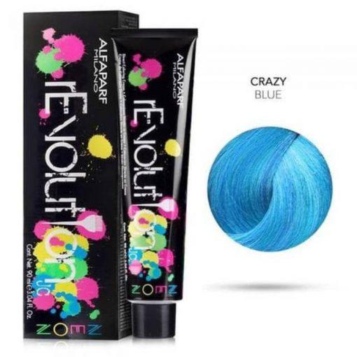 Alfaparf Revolution hajszínező Grazy  Blue 90 ml