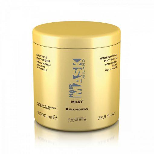 Imperity Milano Regeneráló hajpakolás tejfehérjékkel 1000 ml