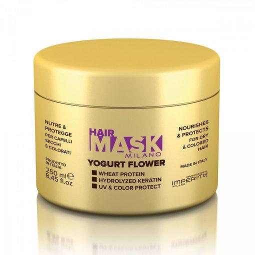 Imperity Milano Joghurtos, virág illatú hajpakolás 250 ml