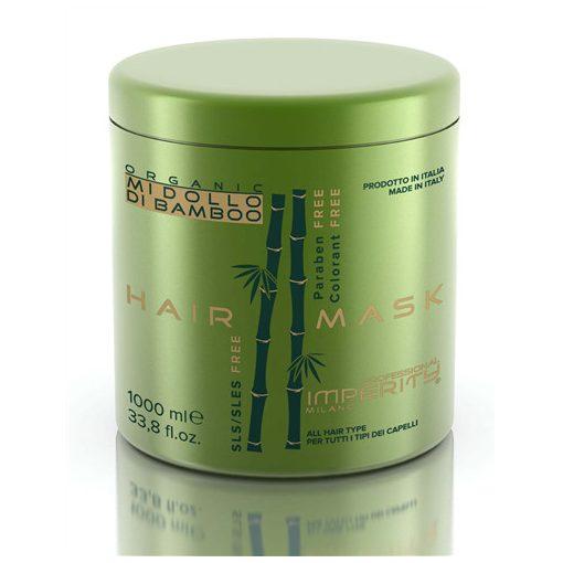 Imperity Organic Midolló Di Bamboo parabén mentes hajmaszk 1000 ml