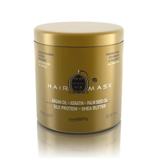 Imperity Gourment Parabén mentes hajmaszk La VIE parfümillattal 1000 ml