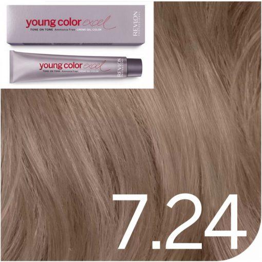 Revlon Young Color Excel hajszínező  7.24