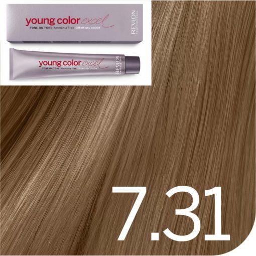 Revlon Young Color Excel hajszínező  7.31