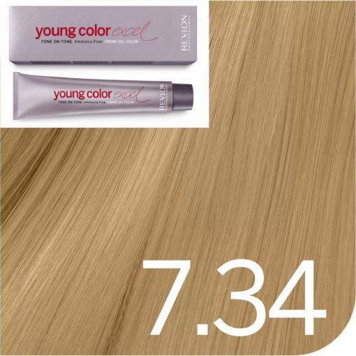 Revlon Young Color Excel hajszínező  7.34