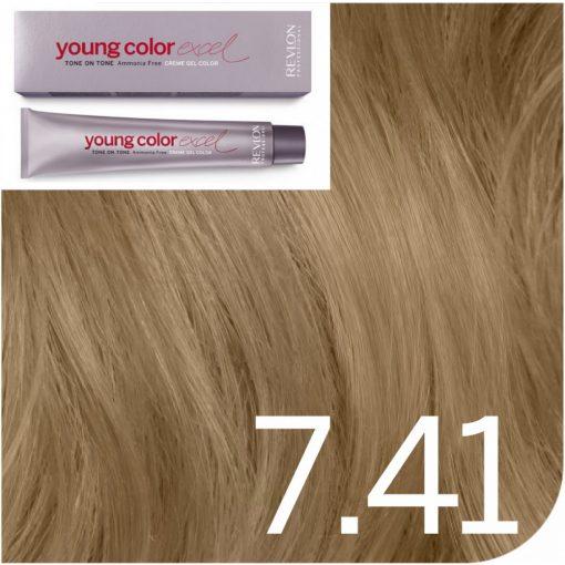 Revlon Young Color Excel hajszínező  7.41