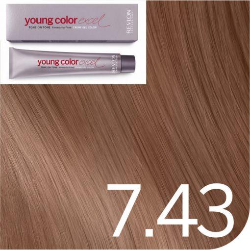 Revlon Young Color hajszínező  7.43
