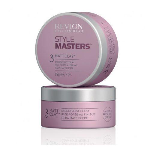 Revlon Style Masters Matt Clay erős tartást adó wax 85 gr.