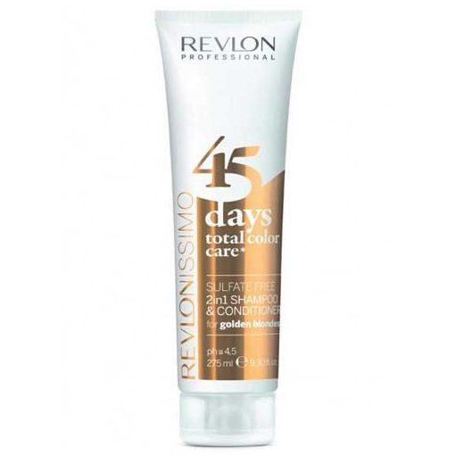 Revlon 45 Days Golden Blond Samp+Cond 275ml
