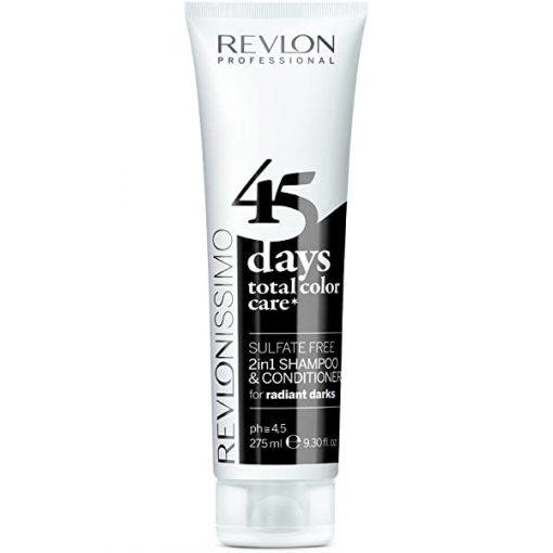 Revlon 45 Days Radiant Darks Samp+Cond 275ml